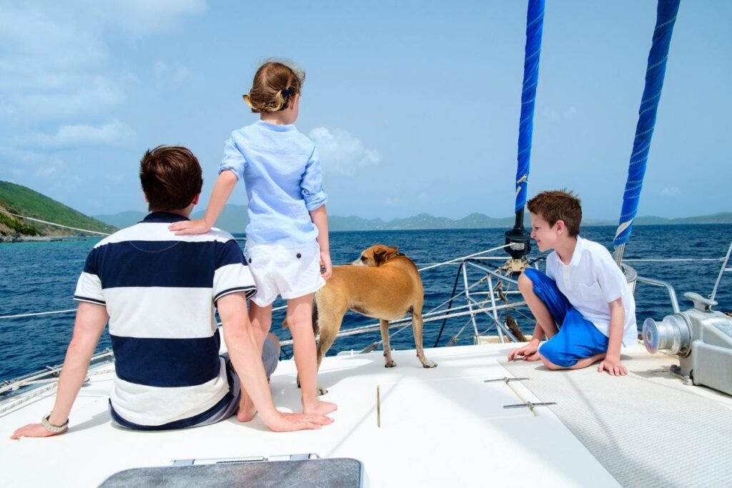 sailng with kids